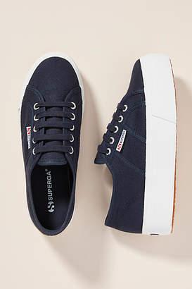 74c11447491 Superga Platform Sneaker Blue - ShopStyle
