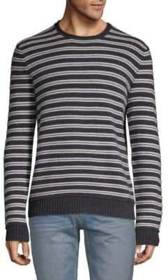 Crewneck Striped Cashmere Sweater