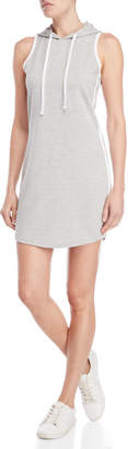 Almost Famous Sleeveless Fitted Hoodie Dress