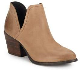 Alpasso Solid Leather Slip-On Boots $129 thestylecure.com