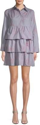 Paul & Joe Sister Women's Ninon Ruffled Shirtdress