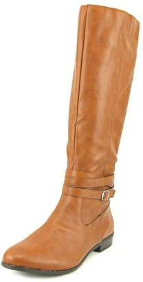 Style&Co. Style & Co. Womens FRIDAA RIDING BOOTS Almond Toe Riding, Barrel, Size 9.0