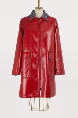 Bottega Veneta 3/4 length glossy coat