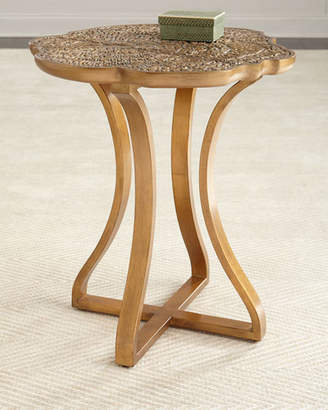 Hooker Furniture Cynthia Rowley for Bois Round Side Table