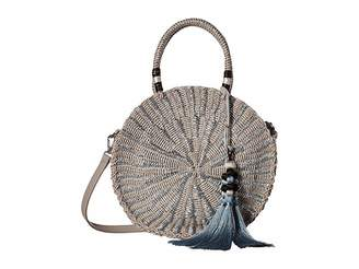 Sam Edelman Giuliana Round Straw Tote Tote Handbags