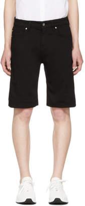 Tiger of Sweden Black Denim Ash Shorts