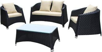 Pangea Venice 4Pc Sofa Set