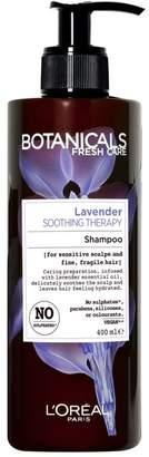 Botanicals L'Oreal Lavender Sensitive Scalp Shampoo 400ml