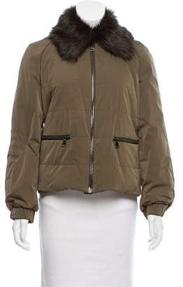 Giamba Casual Zip-Up Coat