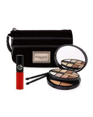 Giorgio Armani Limited Edition Holiday Night Lights Palette Set $140 thestylecure.com