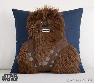 Pottery Barn Kids Star Wars Chewbacca Applique Pillow, 18x18""