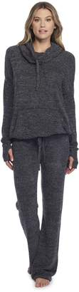 Barefoot Dreams CozyChic Lite Pebble Beach Pullover Heathered