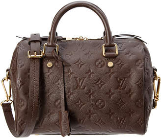Louis Vuitton Brown Monogram Empriente Leather Speedy 25 Bandouliere