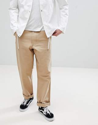 Calvin Klein Jeans Chinos With Back Logo Patch