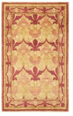 "Solo Rugs Arts & Crafts Vichy Hand-Knotted Area Rug, 6'2"" x 9'4"""