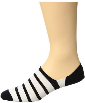 Falke Even Stripe Invisible Sock Men's Crew Cut Socks Shoes
