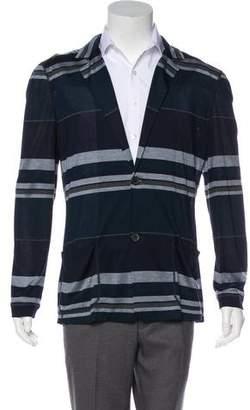 Giorgio Armani Silk Button-Front Cardigan