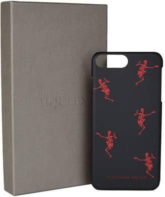 Alexander McQueen Dancing Skeleton iPhone 8 Plus Cover