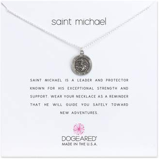 Dogeared (ドギャード) - Dogeared Saint Michael Pendant Necklace