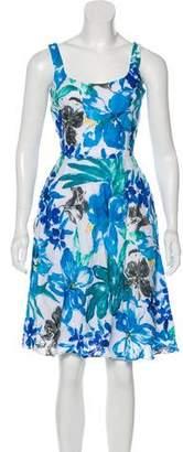 Lauren Ralph Lauren Linen Floral Dress