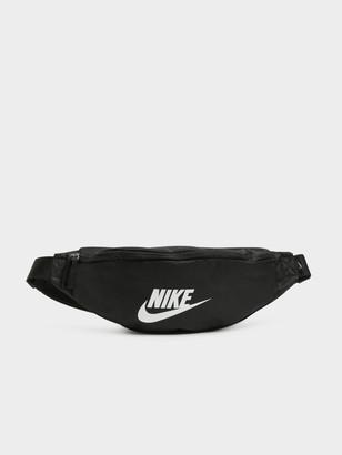 Nike Heritage Waist Bag in Black