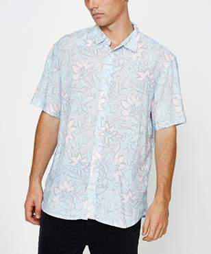 Insight Strange Days Short Sleeve Shirt Misty Lilac