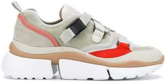 Chloé ridged platform futuristic sneakers