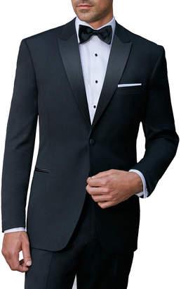 Ike Behar Super 120'S Peak Lapel Tuxedo