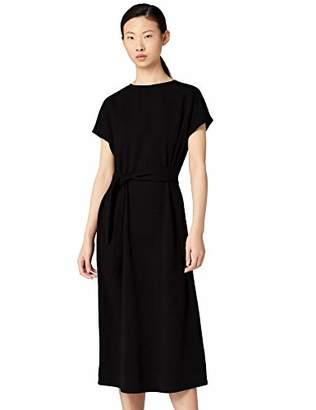 MERAKI Women's Relaxed Fit Maxi Wrap Dress