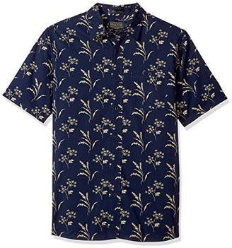 Pendleton Men's Short Sleeve Fitted Kay Street Shirt
