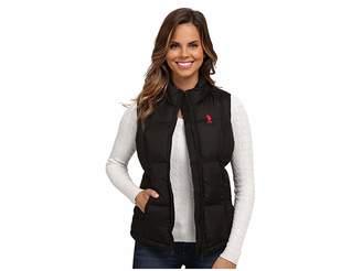 U.S. Polo Assn. Basic Vest with Small Pony Logo Women's Vest