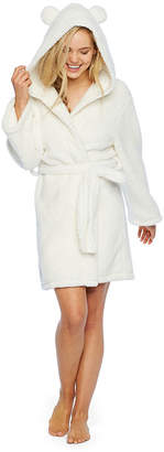Couture Pj Galore Long Sleeve Plush Robe-Juniors