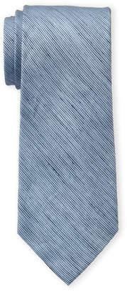 Calvin Klein Blue Micro Stripe Tie