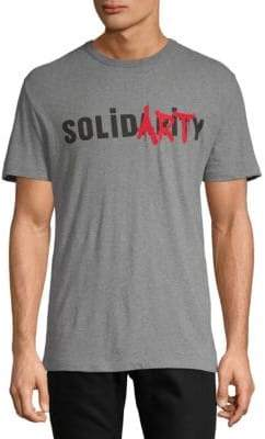 French Connection Cotton Solidarity Tee