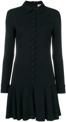 RED Valentino penny collar shift dress