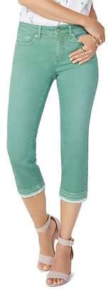 NYDJ Released-Hem Capri Jeans in Cactus
