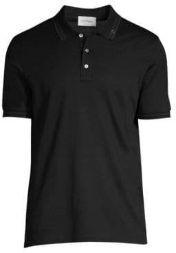 Salvatore Ferragamo Basic Cotton Polo