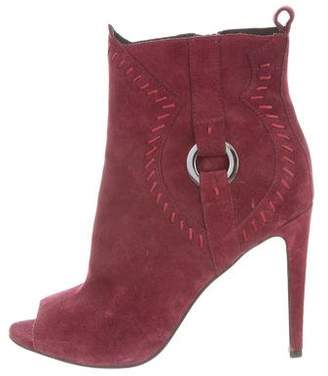 Rebecca Minkoff Peep-Toe High-Heel Booties