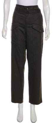 Closed High-Rise Straight-Leg Pants w/ Tags
