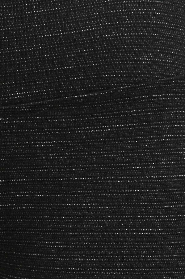 Hard Tail Stripe Capri in Black