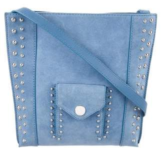 3.1 Phillip Lim Suede Dolly Pocket Shoulder Bag