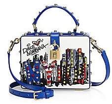 Dolce & Gabbana Dolce& Gabbana Dolce& Gabbana Women's New York Skyline Graphic Leather Crossbody Bag