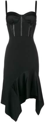 Pinko Graziano bodice detail dress