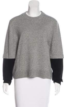 Balenciaga Cashmere Layered Sweater