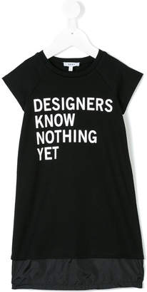 DKNY designers know nothing dress