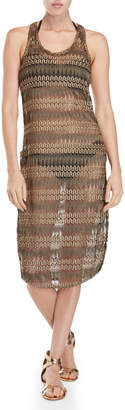 Jordan Taylor Vented Cover-Up Midi Dress