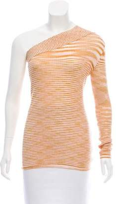 Missoni One-Shoulder Cashmere Sweater w/ Tags