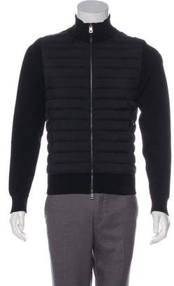 Moncler Tricot Down Cardigan