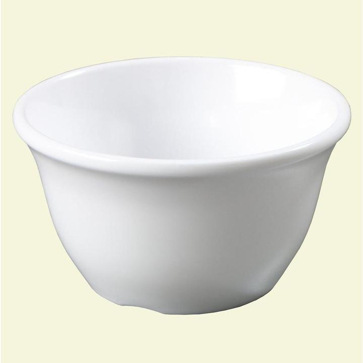 Carlisle 7.6 oz., 3.94 in. Diameter Melamine Bouillon Cup in White (Case of 48)