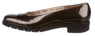 Salvatore Ferragamo Vintage Patent Leather Loafers